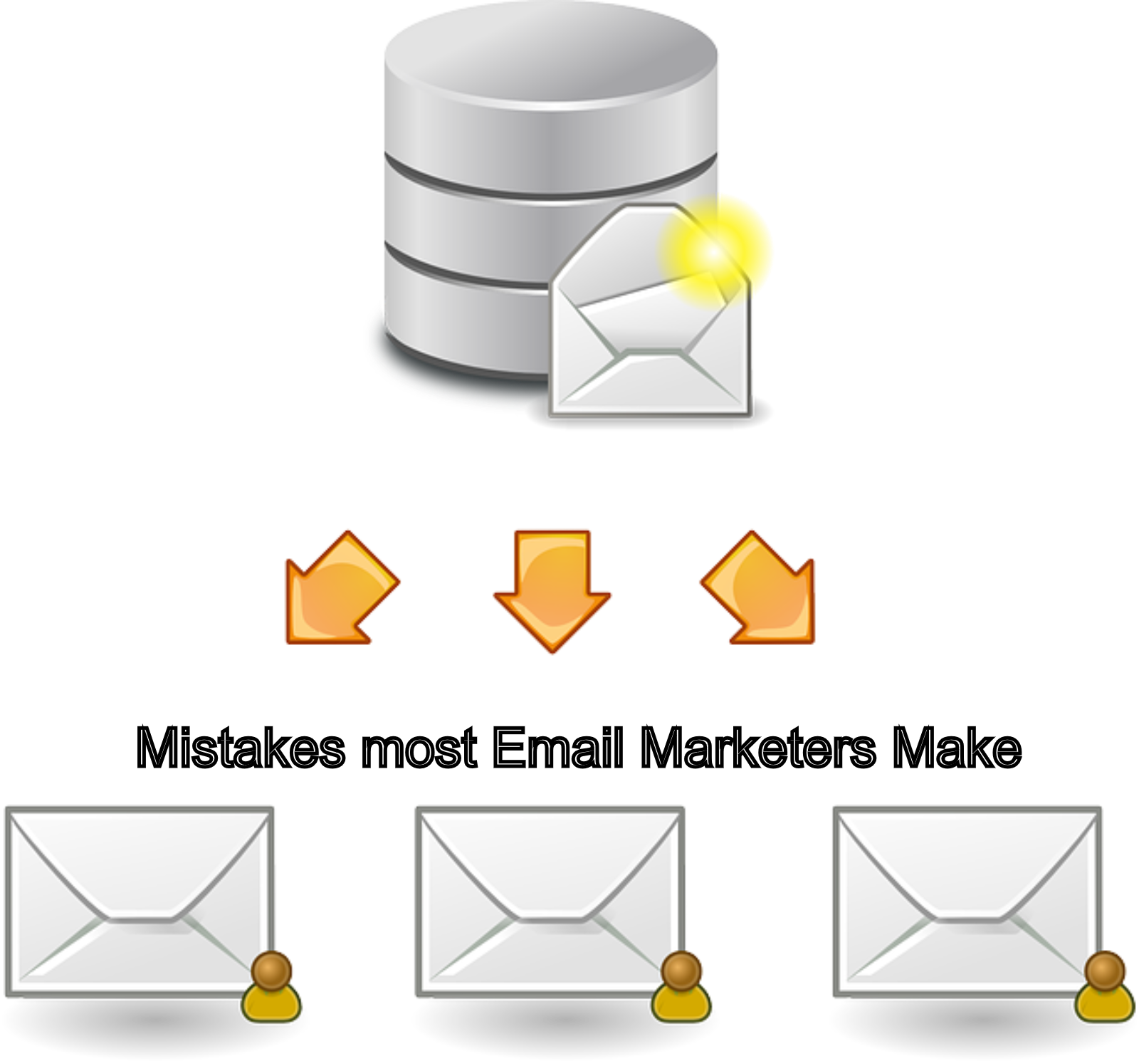 Mistakes most email markers make